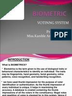 bio voting machine