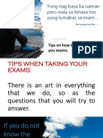 how to pass each examination.pptx