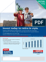 HDFC Retirement Savings Fund - Leaflet - Sept 2017