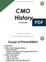 CMO History