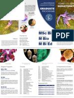 Graduate Programs Promotional Brochure