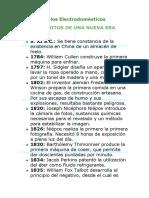 Historia de Los Electrodomc3a9sticos