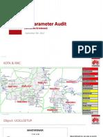 North 3G Parameter Audit