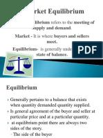 Market Equilibrium 1