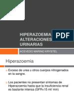 156093444 Hiperazoemia y Alteraciones Urinarias
