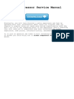 Airman Compressor Service Manual Dryair