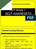 sdp Self-awareness.ppt