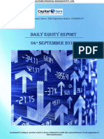 Daily Equity Report 04 Sep 2019
