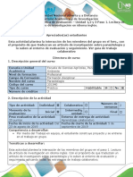 1.Guía de Actividades y Rúbrica de Evaluación-Paso 1, Lectura de Articulo de Investigación en Idioma Ingles (1)