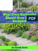 What Every Survivalist Should Grow in His Backyard