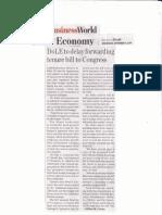 BusinessWorld, Sept, 4, 2019, DOLE to delay forwarding tenure bill to Congress.pdf