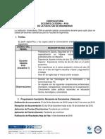 Docente Catedra Ingenieria Dic 2018