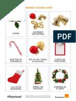 Trabajamos Vocabulario Sobre Navidad