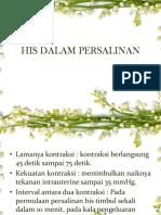 His Dalam Persalinan