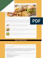 Java, JSP and MySQL Project on Food Court Management System Screens