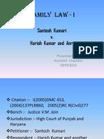 Santosh Kumari v Harish Kumar