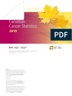 Canadian Cancer Statistics 2019