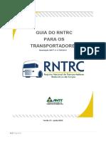 Guia do RNTRC para Transportadores