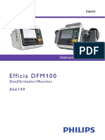 Philips Efficia Dfm100 Spanish Instructions for Use