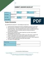 Task 4 Manage Finance