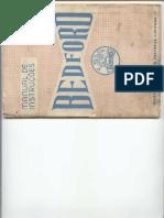 Bedford Manual Instruções