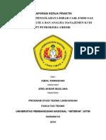 Laporan Kerja Praktik Studi Kinerja Pengolahan Limbah Cair, Emisi Gas Unit Produksi III a & Analisa Manajemen k3 Di Pt Petrokimia Gresik