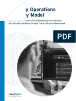 Security Operations Maturity Model White Paper