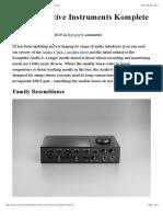 Job_103 Review Native Instruments Komplete Audio 6 Ask.audio