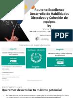 Route to Excellence Desarrollo Directivo y Cohesion de Equipos 2
