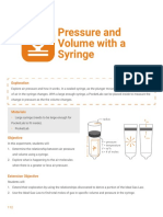 PresPressure and Volume with a Syringe