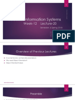 week 12 lec 20 Inform Systems Object Oriented Analysis and Design.pptx