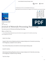 Journal of Materials Processing Technology - Elsevier