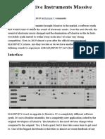 Job_140 Review Native Instruments Massive X Ask.audio