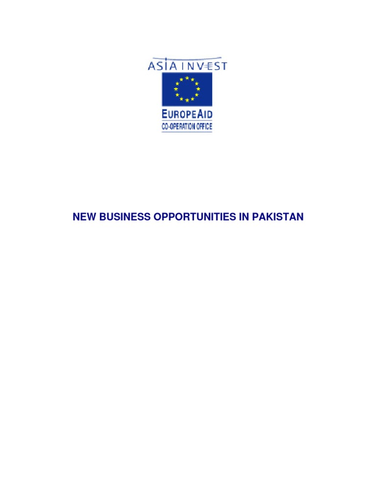 Opportunities for pakistan foreign direct investment exports fandeluxe Gallery