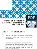 Iecep by-laws Ppt
