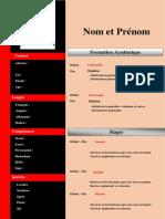 Cv Etudiant Original Télécharger Modèles Cv Word Gratuit Docx