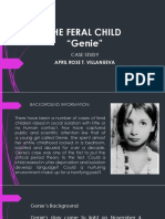The Feral Child Case Study