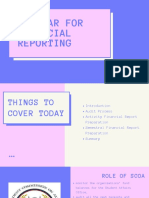 Seminar for Financial Reporting