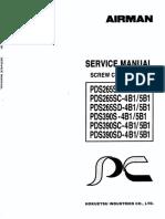 PDS390-400 SM Compressor Air Screw