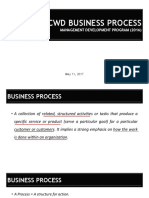 DCWD Business Process_Draft
