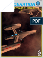 Federation Starship Recognition Manual IV 1st Edition FASA 2310
