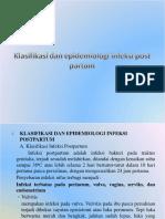 Infeksi Post Partum Infeksi Puerperium