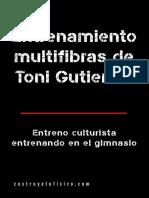Entreno Multifibras de Toni Gutierrez
