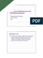 Lecture21 Bankruptcy E