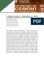 Ferreira Júnio e Peruzzo - Ciclos Electorales en el Legislativo
