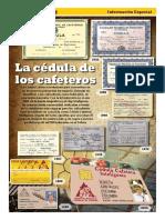 Beneficios de La Cedula Cafetera