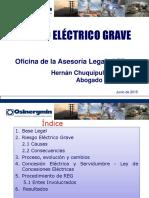 RIESGO  ELÉCTRICO EN MT Y BT