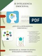 inteligencia emocional, diapositiva