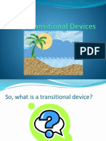 Using Transitional Devices Ppt