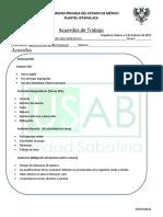 Acuerdos de Trabajo Portafolio Profesional